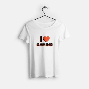 i-love-gaming-baskili-kadin-tisort-bisiklet-yaka