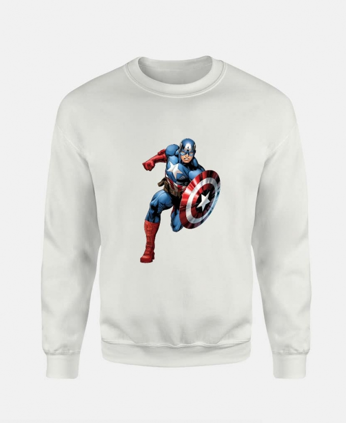 marvel captain sweatshirt