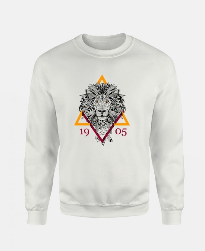 triangle-lion-1905-baskili-unisex-sweatshirt